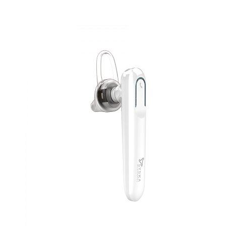 e8cef3d5eb1 Buy Syska LB300 Bluetooth Headset with Mic (White) online at wholesale price  in India | LockTheDeal