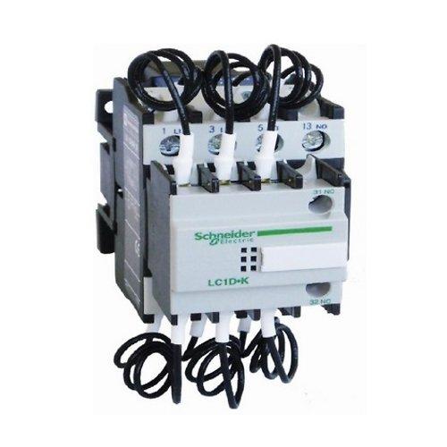 Schneider LC1DMK11 AC Control Duty Capacitor Contactor (110V-AC Coil  Voltage)
